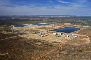 White Mesa Uranium Mill as seen from an Ecoflight overflight. (c) Tim Peterson